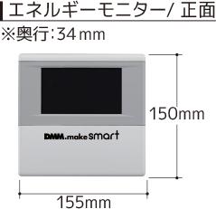 エネルギーモニター/正面